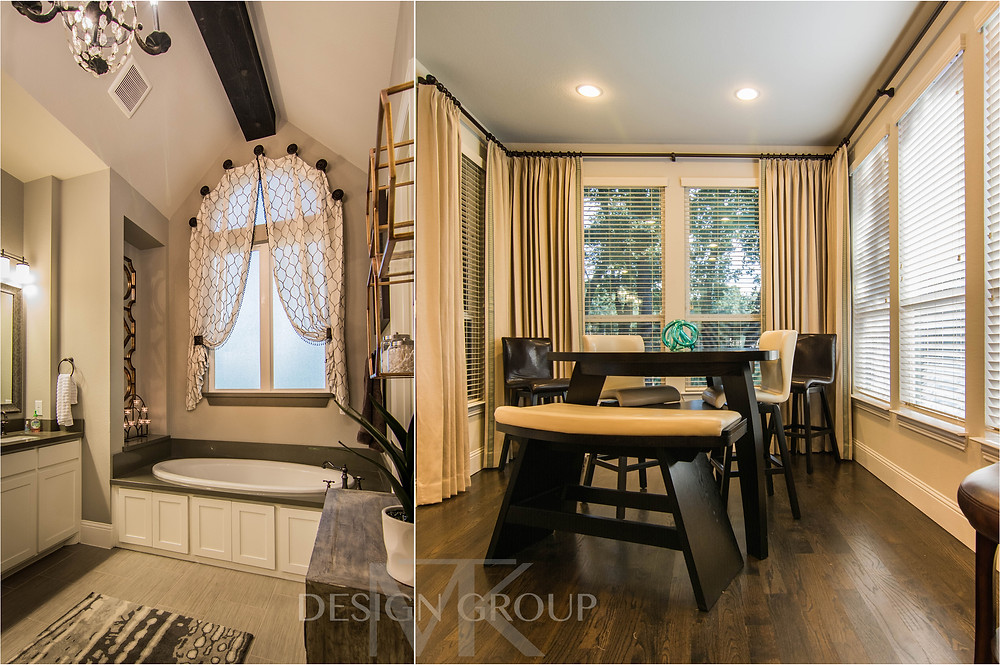 curtains, window treatments, MTK Design Group, DFW Interior Decorating Services