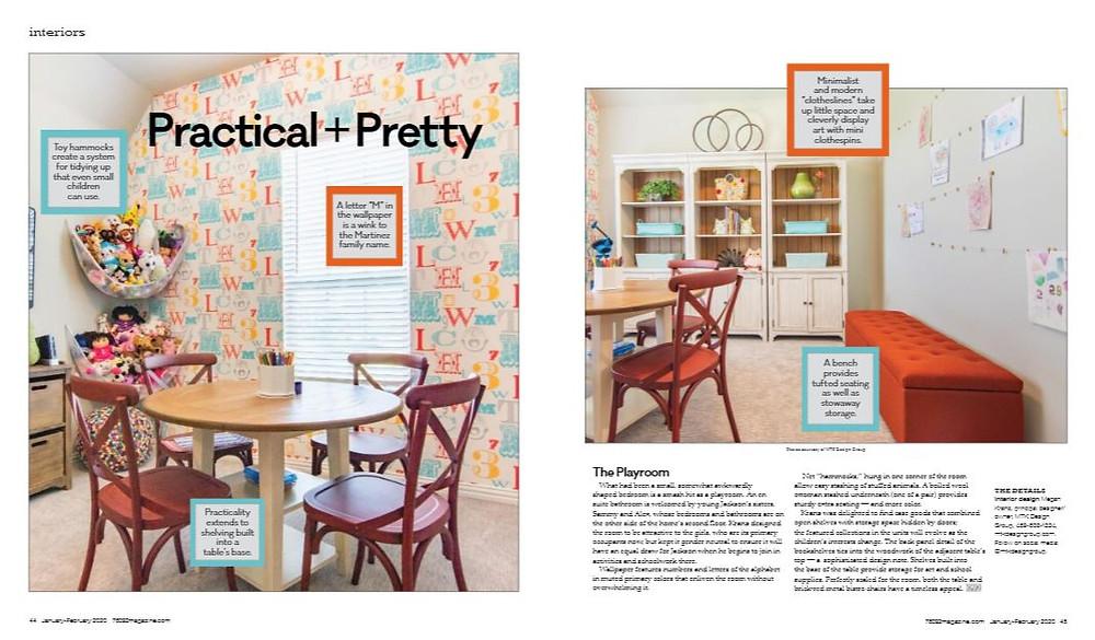 MTK Design Group Featured in 76092 Magazine