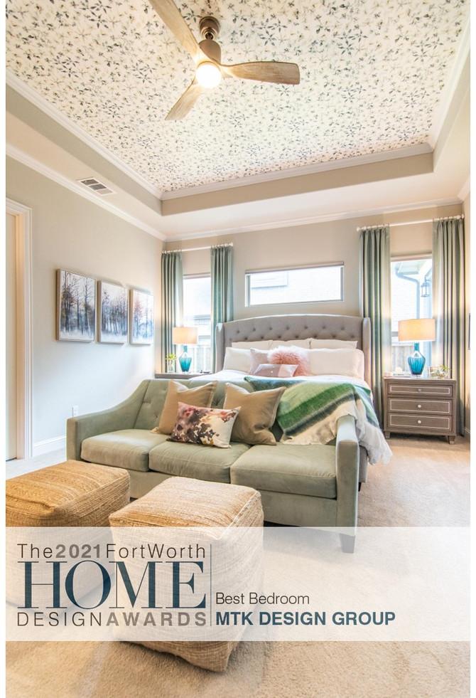 MTK Design Group Wins Best Bedroom 2021!