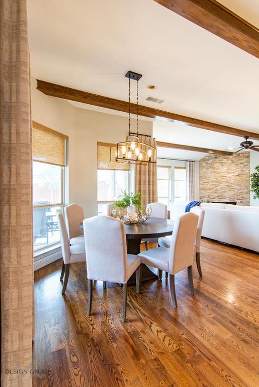 Modern Rustic Living Room Design, MTK Design Group