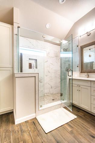 Grand Prairie Bathroom Remodel, MTK Design Group