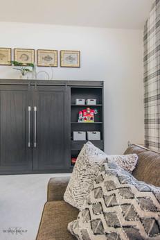 McKinney Modern Playroom Design by MTK Design Group