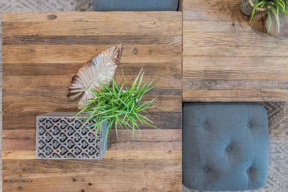 Fort Worth Southwestern Living Room Design by MTK Design Group