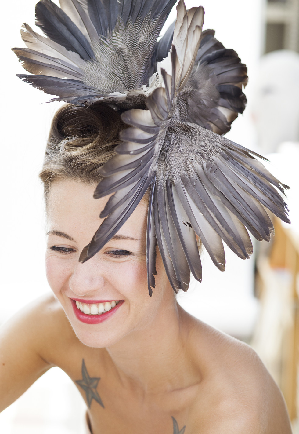 BIRDS IN THE HEAD