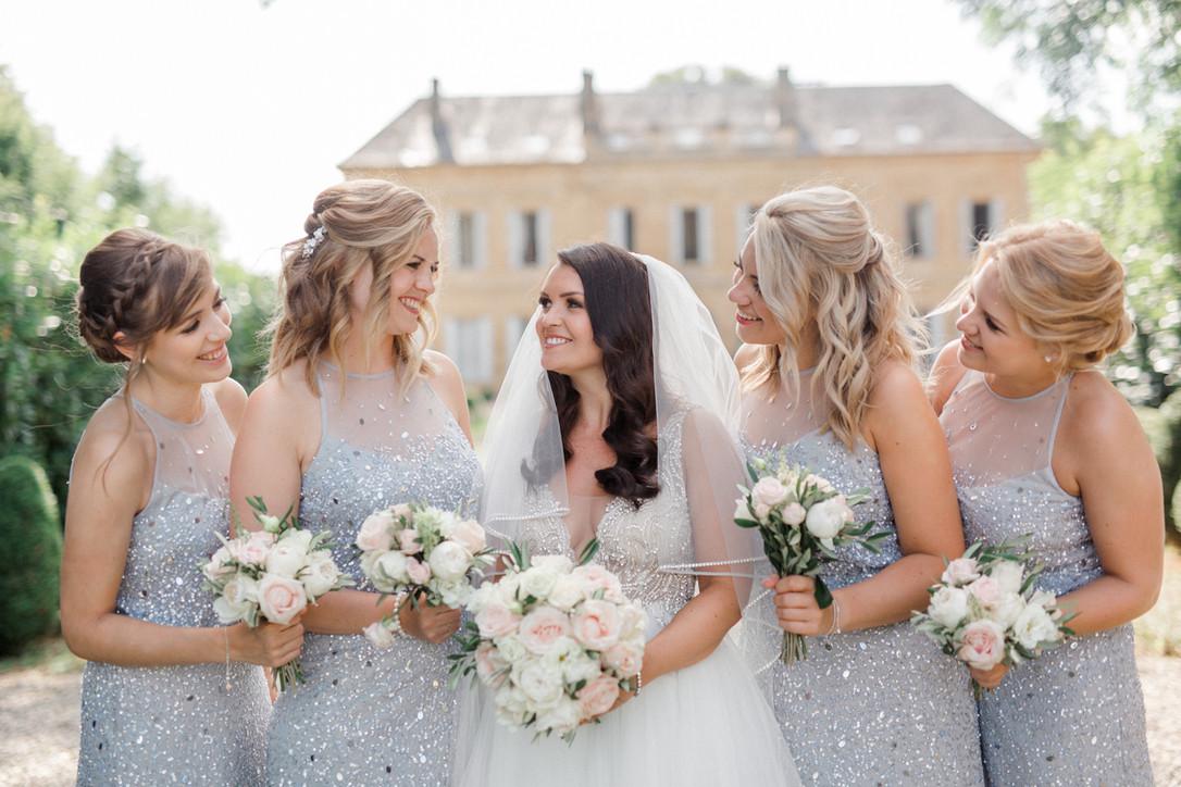 Chic wedding château La Durantie Dordogn