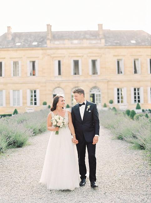 Mariage chic château La Durantie