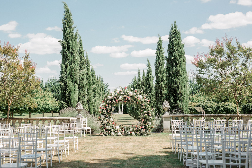 Chateau La Durantie Wedding Florist - Do