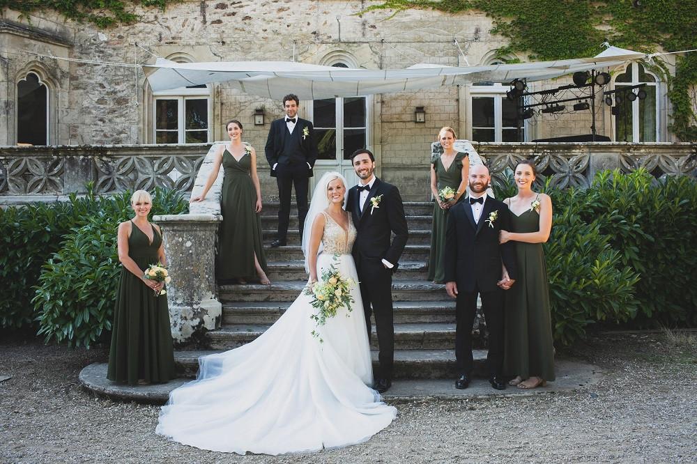 Laplaqnue castle wedding
