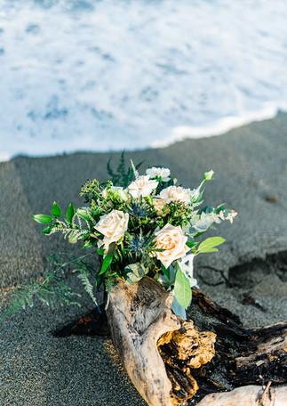 Wild beach wedding inspiration