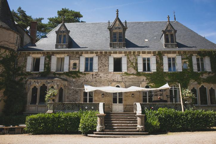Mariage château de Laplanque