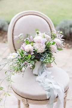 Château Forge du Roy bouquet de mariée