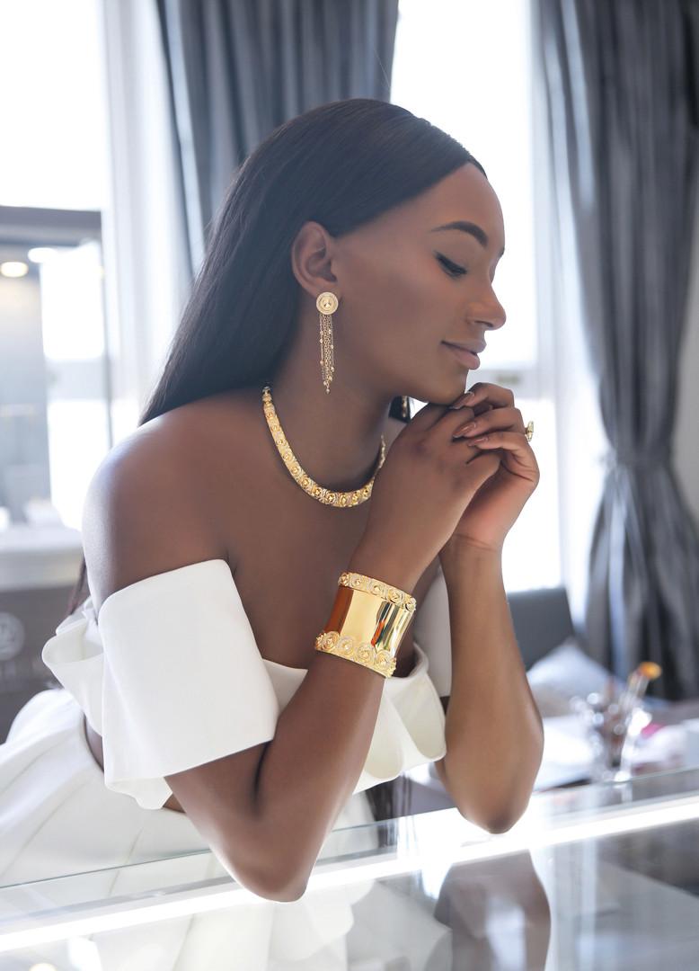 Photoshoot campaign for fine jewellery brand Vanleles diamonds