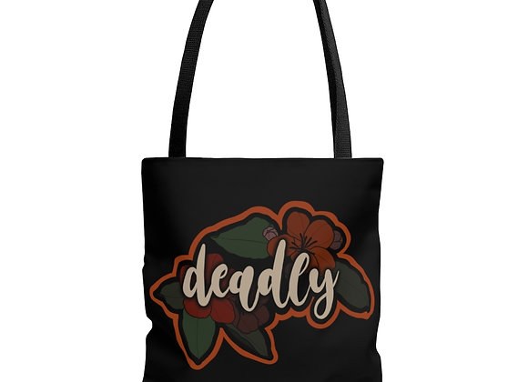 Deadly AOP Tote Bag