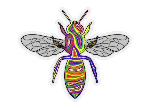 Amoo - Bee - Kiss-Cut Stickers