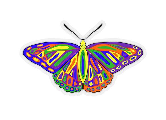 Memengwaa - Butterfly - Kiss-Cut Stickers