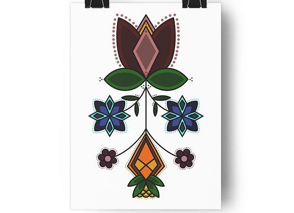Floral Giclée Art Print