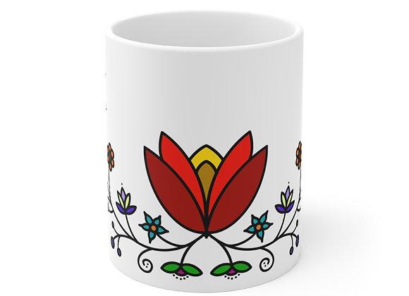 Floral Mug 11oz