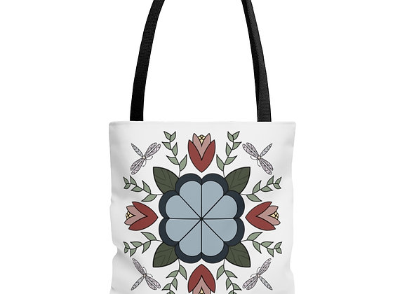 Dragonfly AOP Tote Bag