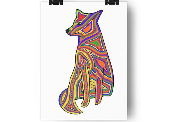 Coyote Giclée Art Print