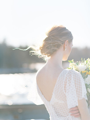Bridal Updo Halifax
