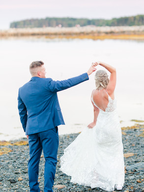 Oak Island Wedding | Danielle Grasley Makeup