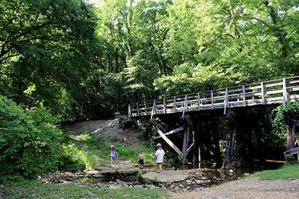 Bicentennial Trail near Nashville in Ashland City, TN