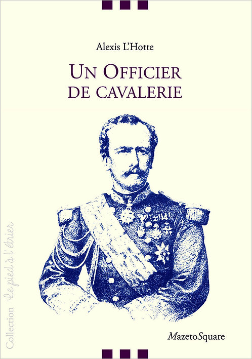 Un officier de cavalerie