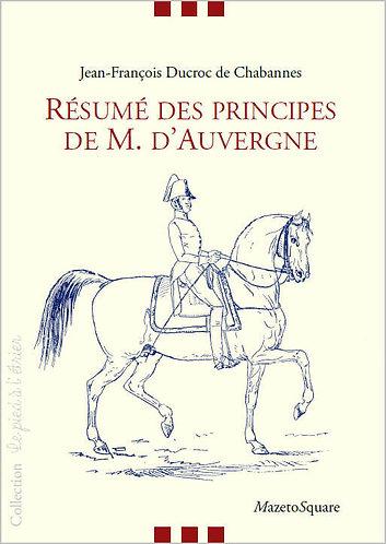 Résumé des principes de M. d'Auvergne