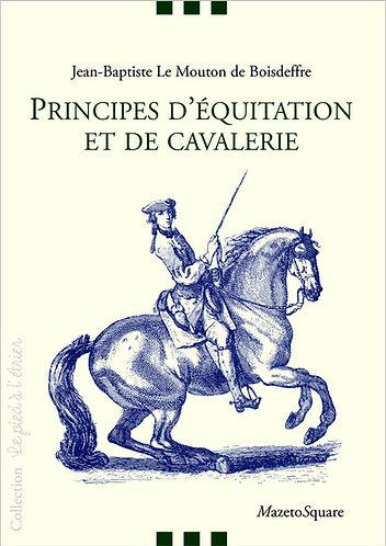 Principes d'équitation et de cavalerie
