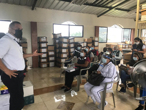 Empresa Cuencana y ONG´s Unen Esfuerzos para Contribuir con Hospitales Ecuatorianos