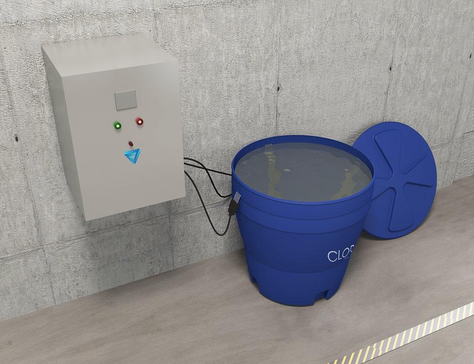 Máquina de cloro