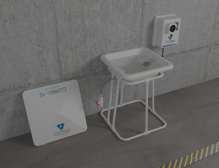 Equipo generador de hipoclorito de sodio