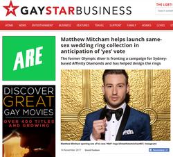GAY STAR - MATTHEW MITCHAM X AFFINITY DIAMONDS