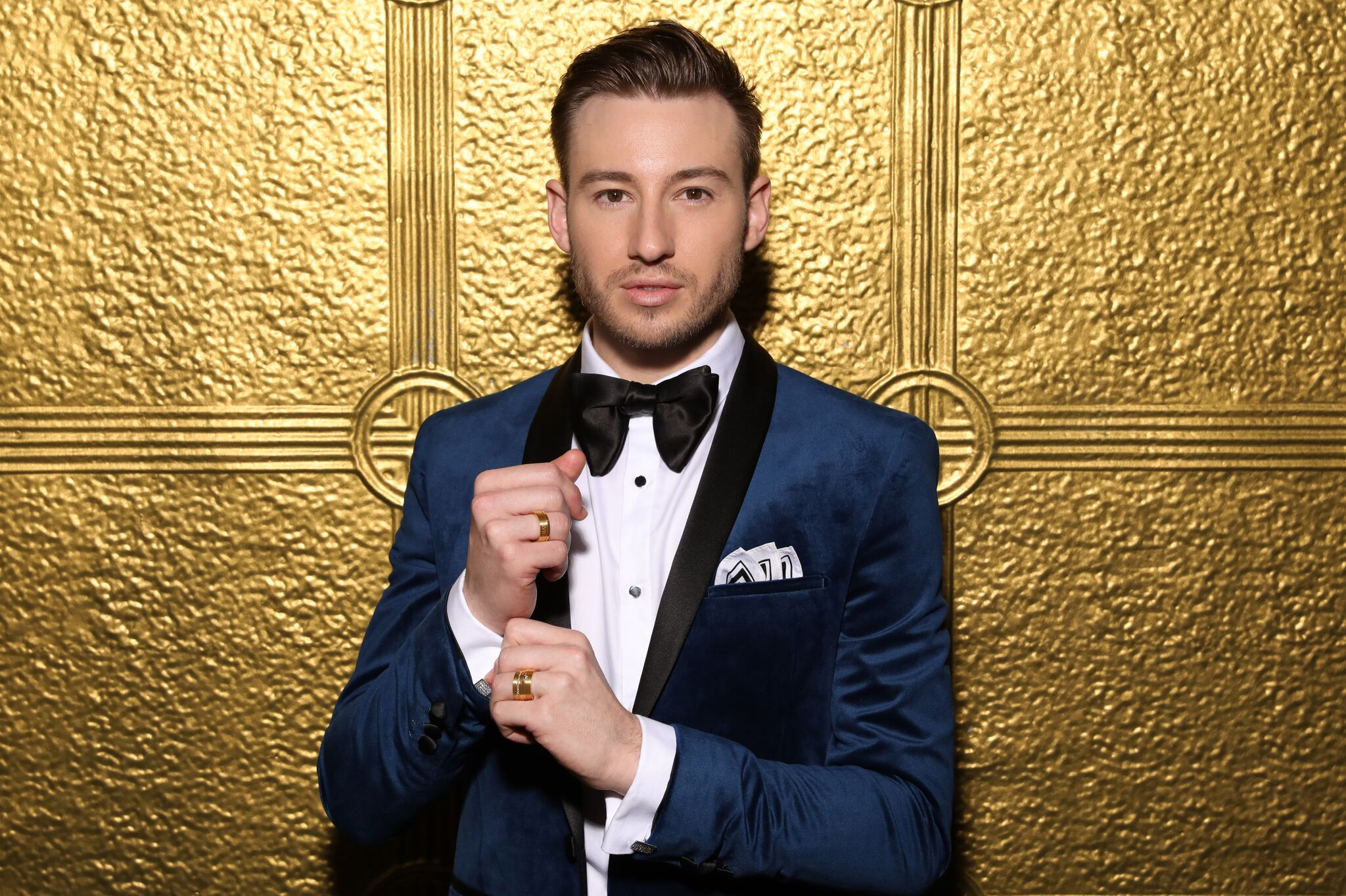 Matthew Mitcham X Affinity Diamond H&H Collection