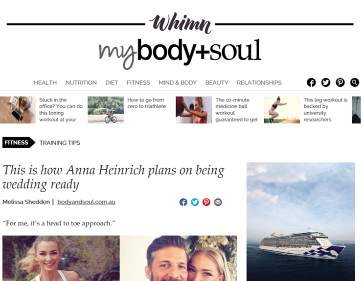 Body + Soul - Anna Heinrich & Infinite Cycle