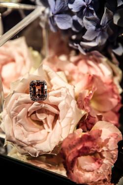 Affinity Diamonds Morganite Ring