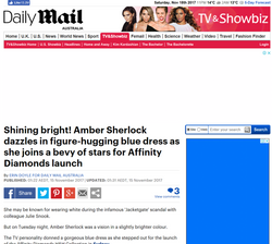 DAILY MAIL - MATTHEW MITHCAM X AFFINITY DIAMONDS FEATURE