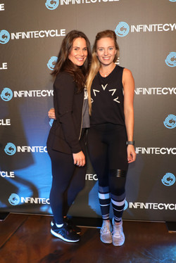 SAMI BLOOM AND STEF JUNG INFINITE CYCLE LAUNCH PITT ST 24th OCTOBER 2017