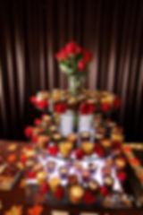 Glass Wedding Dessert Tower