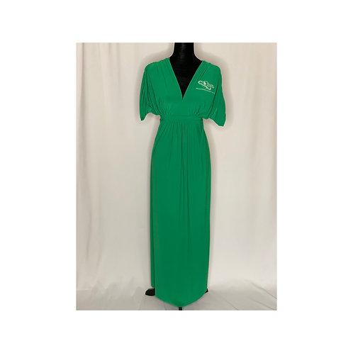 Links Matte Jersey Maxi Dress