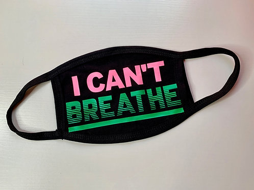 I Can't Breathe Face Covering - SALE