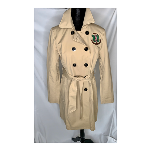 AKA Trench Coat - Tan