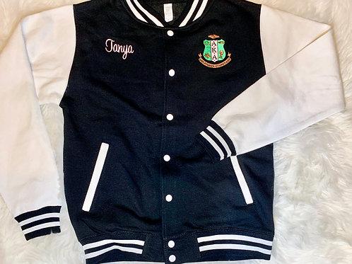 Pretty Girl Varsity Jacket