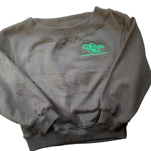 Links Off the Shoulder Sweatshirt