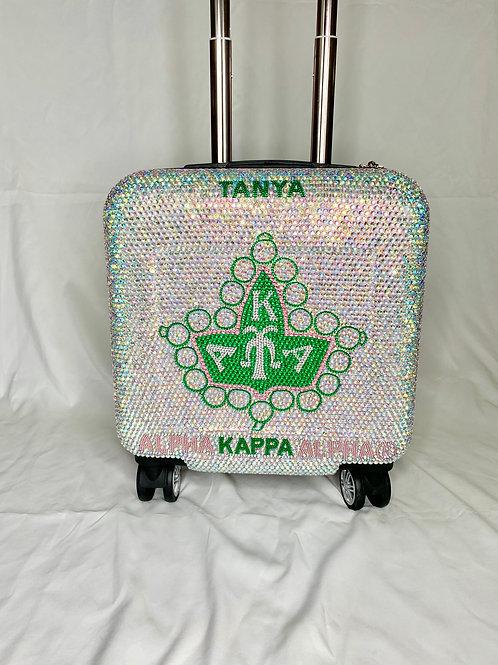 AKA Pearl Bling Luggage