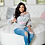 Thumbnail: Delta Diva Off The Shoulder Sweatshirt
