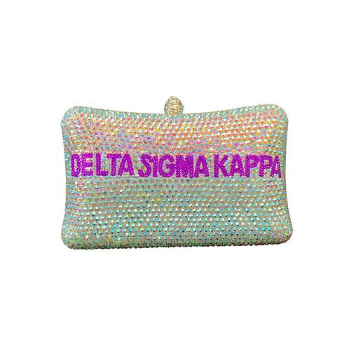 Delta Sigma Kappa Clutch