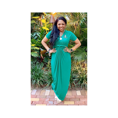 AKA Empire Knot Maxi - Green