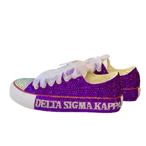 Delta Sigma Kappa Bling Converse