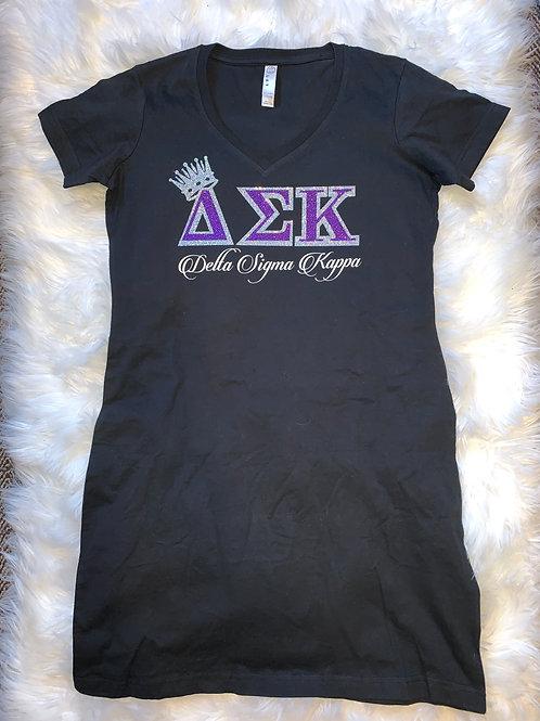 Delta Sigma Kappa T-Shirt Dress
